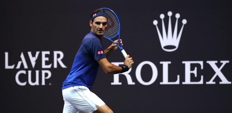 Após derrota, Federer treina à porta fechada com um júnior de topo