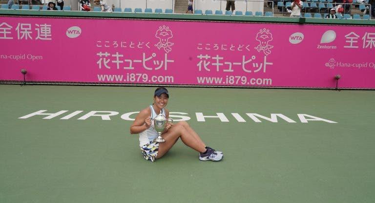 Rebecca Peterson conquista primeiro título WTA em Nanchang; Hibino o segundo em Horishima