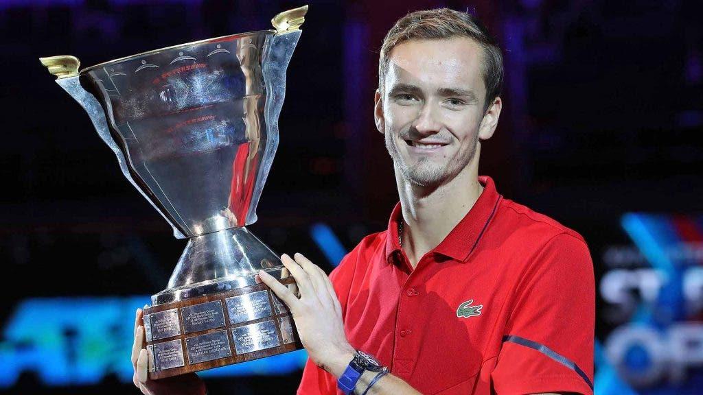 Medvedev após mais um título: «Muitos não acreditavam mas vim aqui para vencer e foi isso que fiz»