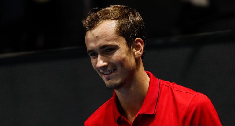Os números que provam a evolução de Medvedev contra tenistas do top 10