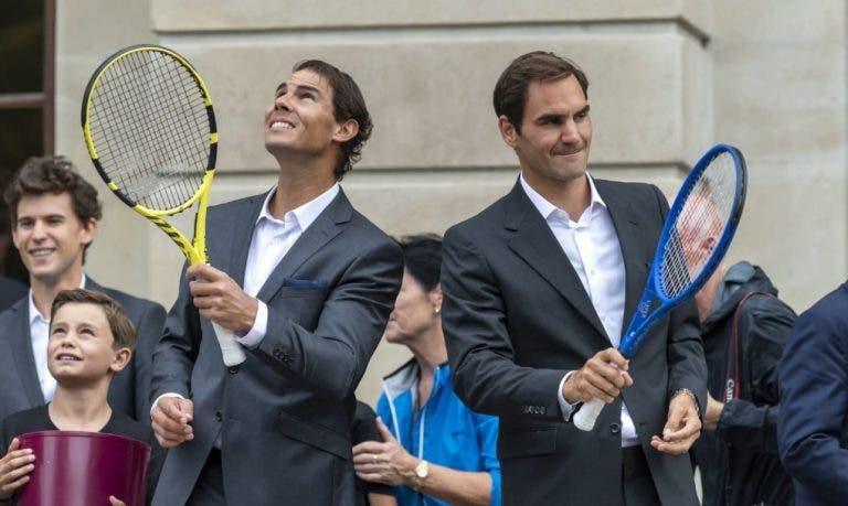 Federer: «Tenho a certeza de que o Nadal será um ótimo pai»