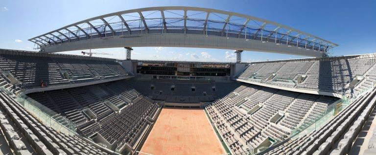 Roland Garros deverá poder receber 5 mil espectadores por dia