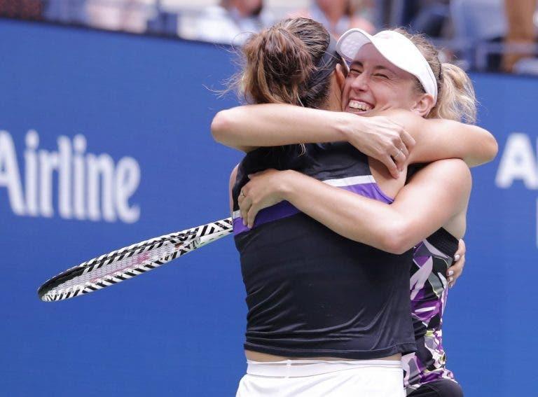 Sabalenka e Mertens campeãs de pares no US Open