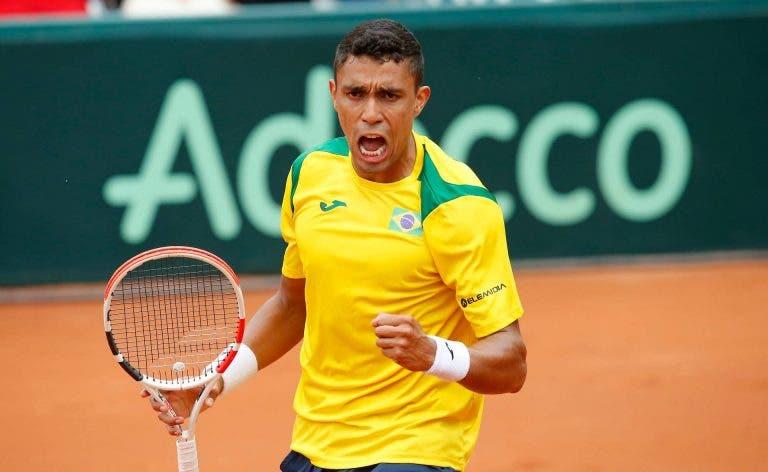 Brasil derrota Barbados e vai discutir acesso às Davis Cup Finals de 2020