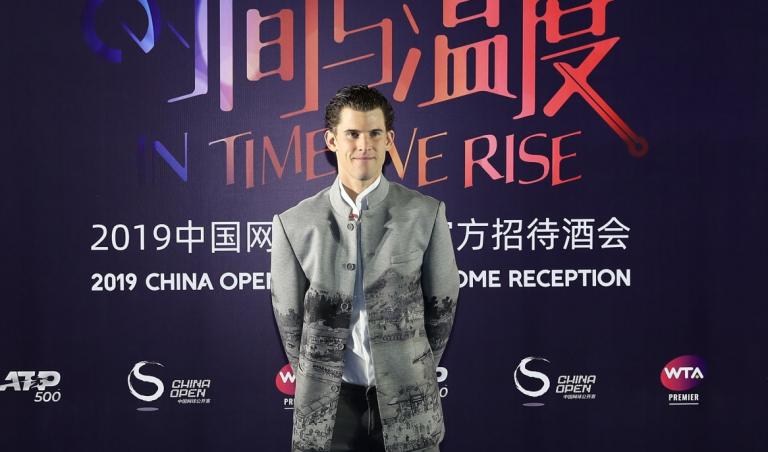 Thiem ganhou título inesperado em Pequim e reagiu: «A minha roupa era linda!»