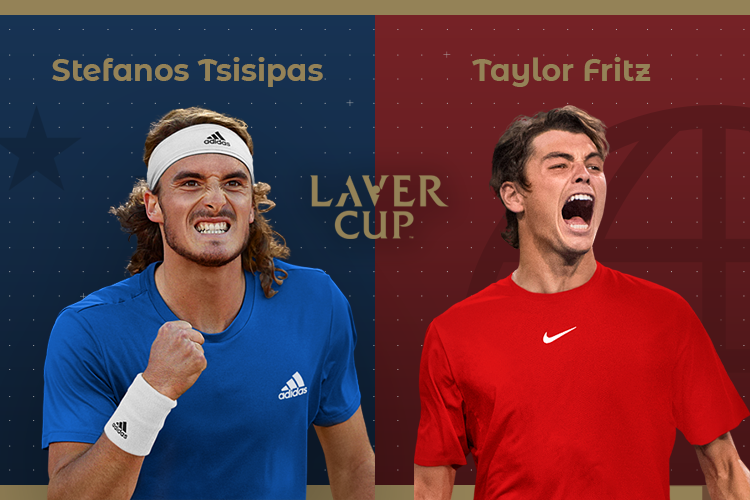 Laver Cup 2019: siga Stefanos Tsitsipas vs Taylor Fritz no nosso live center