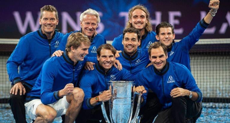 Zverev: «Sem Nadal e Federer no banco não conseguiria ganhar»