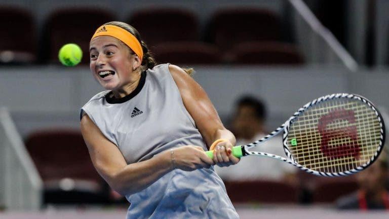 Efeito Bartoli: Ostapenko salva três match points e 19 meses depois regressa a uma final WTA