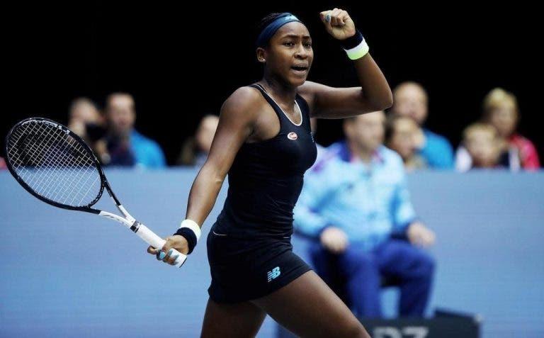 [VÍDEO] O momento em que Gauff conquistou o primeiro título WTA da carreira