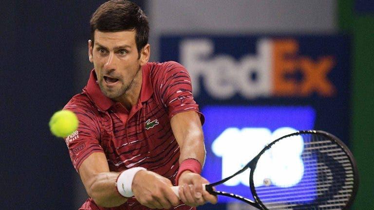 Novak Djokovic: «Foi difícil superar Federer e Nadal»