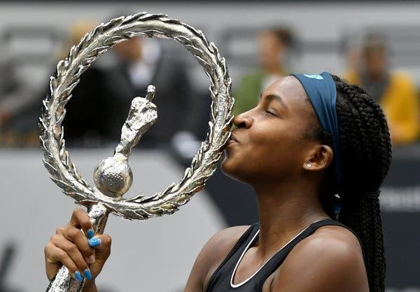 Próximo objetivo de Coco Gauff é ganhar o concurso da WTA… no Halloween