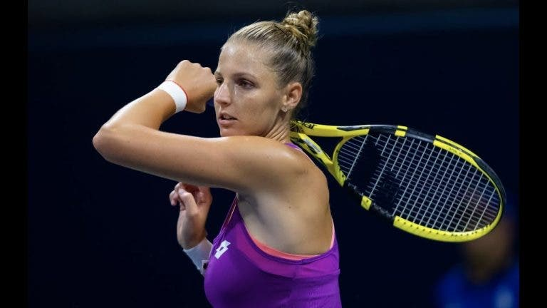 Kristyna Pliskova bate o recorde de ases em 2019 e… perde na mesma