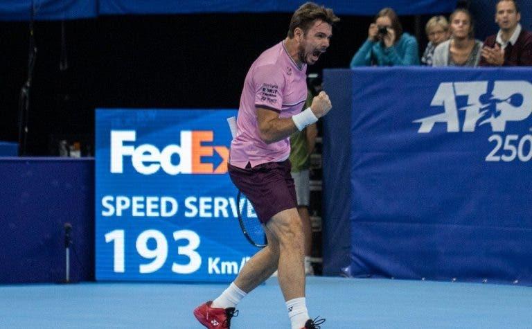 Wawrinka bate Tiafoe e marca duelo… com Federer em Basileia