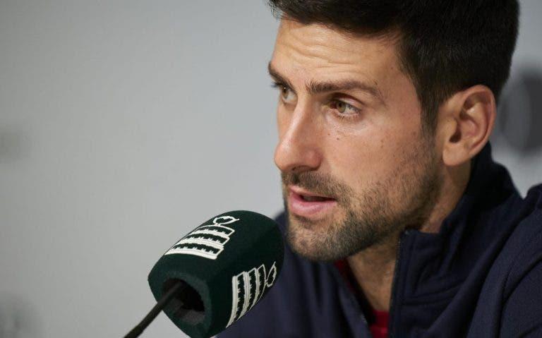 Djokovic faz reflexão da Taça Davis e atira: «Eu, Federer e Nadal não decidimos nada»