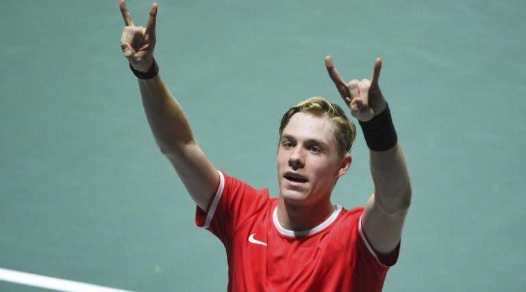 Shapovalov ultrapassa Khachanov e primeiro finalista da Taça Davis vai ser decidido nos pares