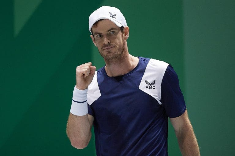 Andy Murray confirmado no (fortíssimo) ATP 250 de Montpellier