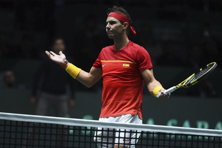Nadal pede junção da Taça Davis e ATP Cup: «Não vejo outra forma, honestamente»