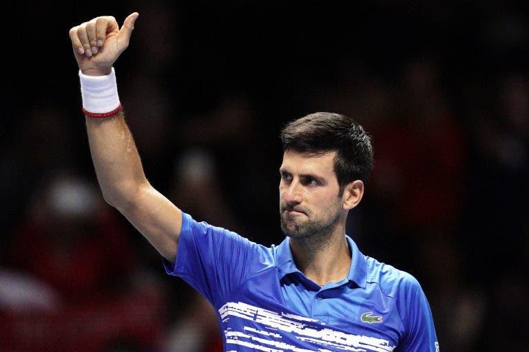 Novak Djokovic já só depende dele para sair de Londres número 1