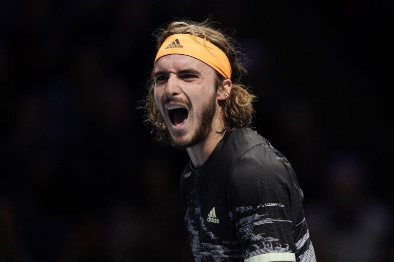 Tsitsipas derrota Thiem em duelo fantástico nas ATP Finals e vence o título mais importante da carreira