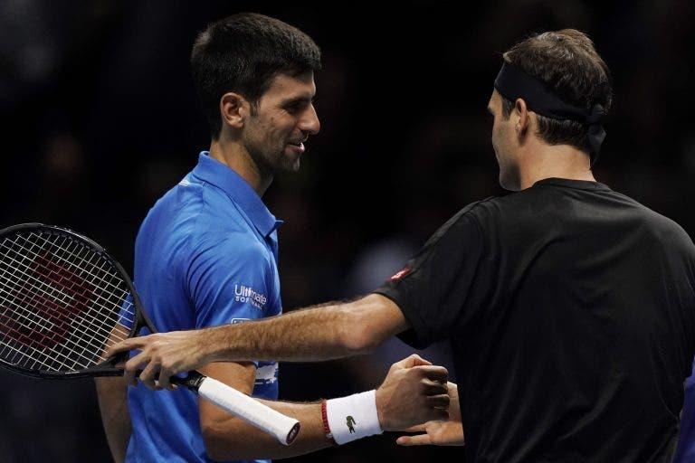 Rusedski sobre Federer e Djokovic: «Eles não se dão bem, isto é tudo publicidade»
