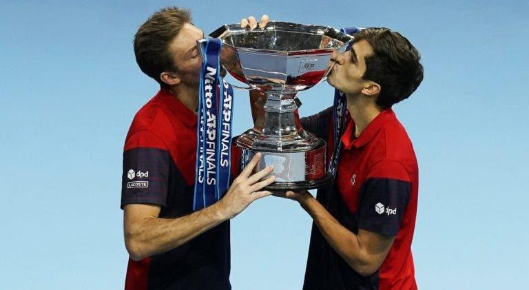 Mahut e Pierre Herbert fecham semana de sonho e conquistam as ATP Finals em pares
