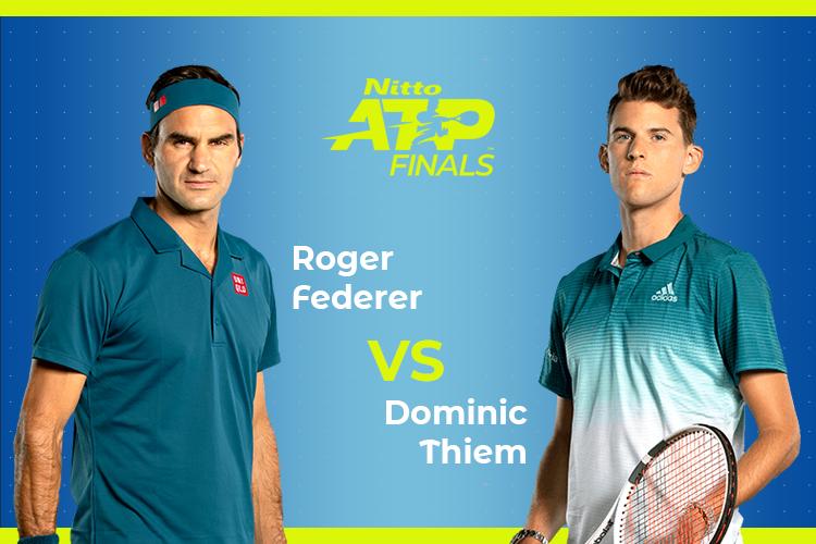 ATP Finals: Siga Roger Federer vs Dominic Thiem no nosso live center