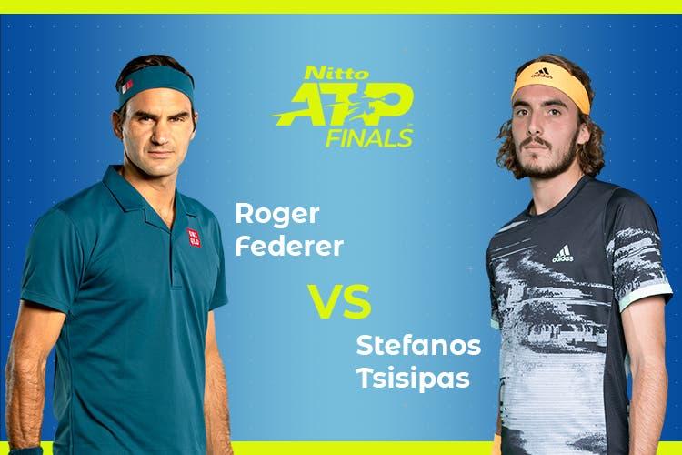 ATP Finals: Siga Roger Federer vs Stefanos Tsitsipas no nosso live center