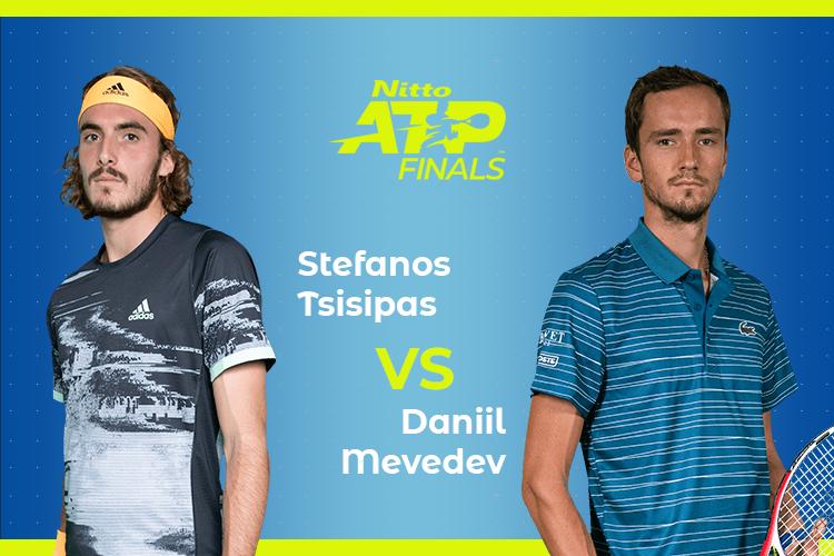 ATP Finals: Siga Daniil Medvedev vs Stefanos Tsitsipas no nosso live center