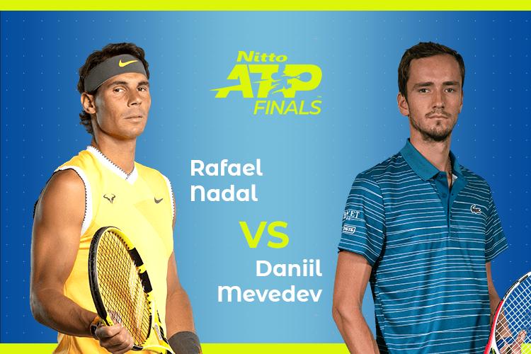 ATP Finals: Siga Rafael Nadal vs Daniil Medvedev no nosso live center