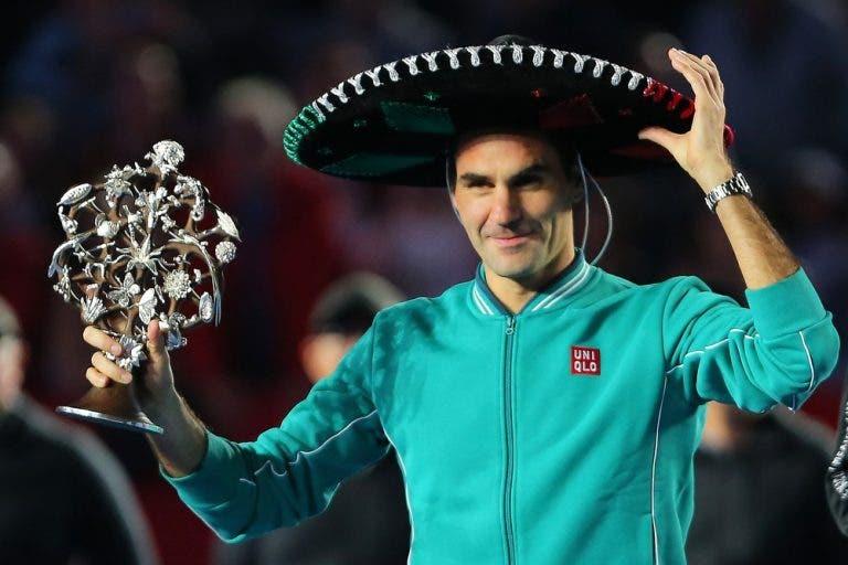 Federer responde a críticas por jogar na América do Sul