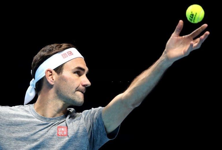 Luthi: «Federer está disposto a dar o melhor de si para ter uma boa prestação nas ATP Finals»