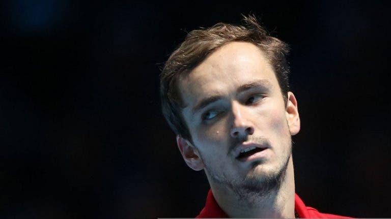 Medvedev: «É mais difícil as primeiras rondas de Roterdão do que um Grand Slam»