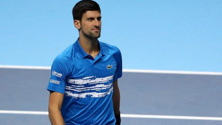 Djokovic e a derrota com Federer: «Não fiz quase nada bem»