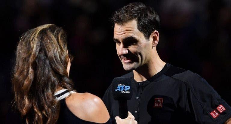 Federer: «Muito contente com a forma como joguei»
