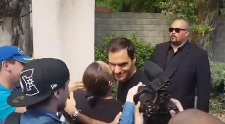 [VÍDEO] Federer foi recebido na Argentina… com beijos de fãs