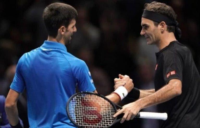 Djokovic: «Federer é um modelo a seguir para mim, o que ele faz inspira»