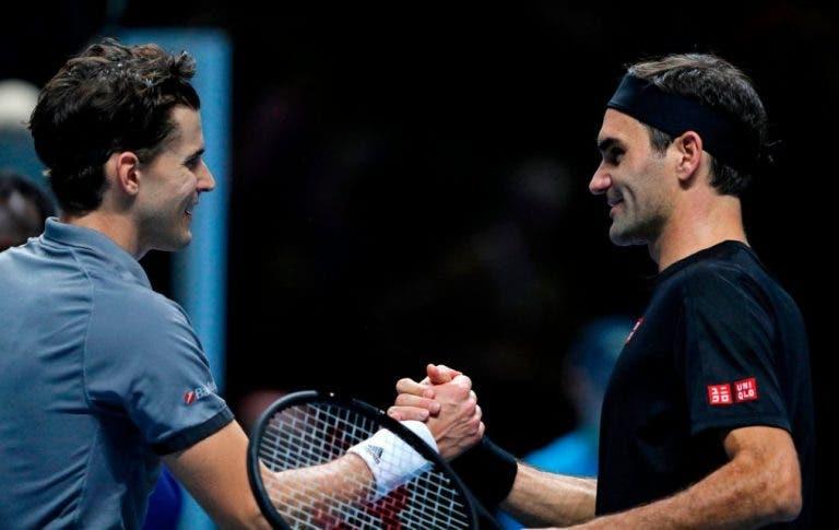 Thiem: «Para vencer o Federer tem de sair tudo bem e consegui isso novamente»