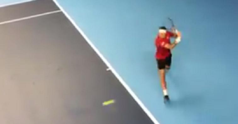 [VÍDEO] Federer já treina em Londres de olho nas ATP Finals