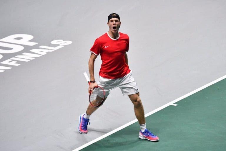 Fisioterapeuta de Shapovalov diz que canadiano tem corpo perfeito para o ténis