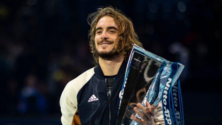 Tsitsipas e os Grand Slams: «Formato à melhor de 5 sets beneficia o Big 3»