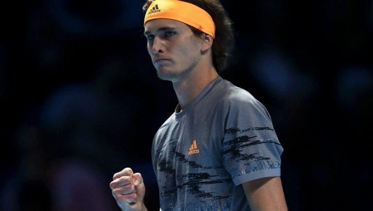 Campeão Zverev não dá chances ao número 1 Nadal nas ATP Finals