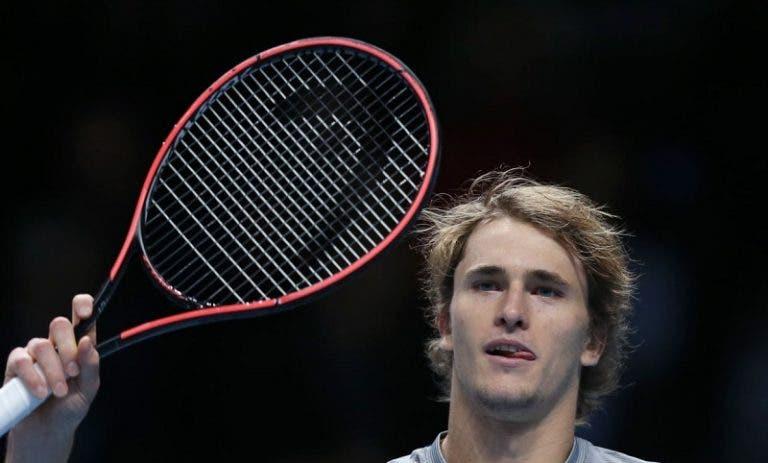 Zverev: «Já ganhei a Nadal, Federer e Djokovic neste court»