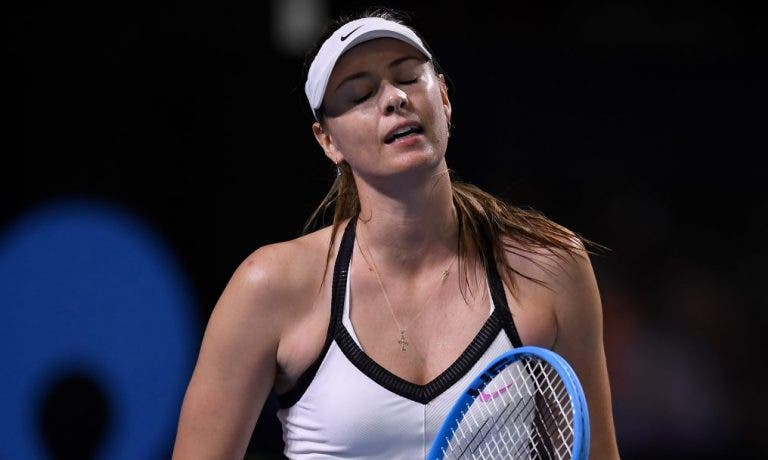 Sharapova terminou registo impressionante que durava desde… 2003