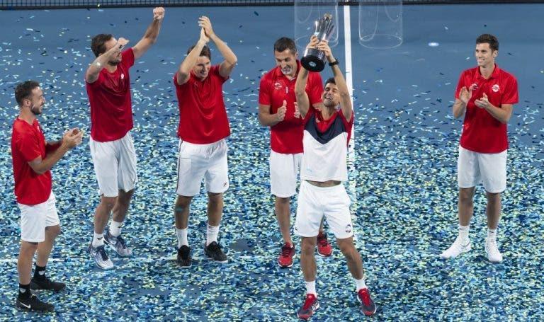 O impressionante valor angariado durante a ATP Cup para ajudar na luta contra os incêncios australianos