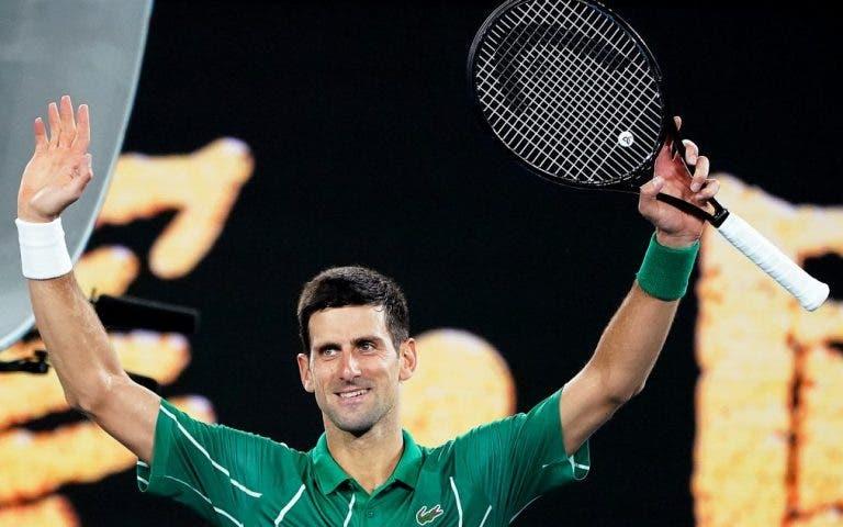 """Incrível: Djokovic é o sexto jogador da história a chegar às 900 vitórias: «Estou apenas a começar!"""""""