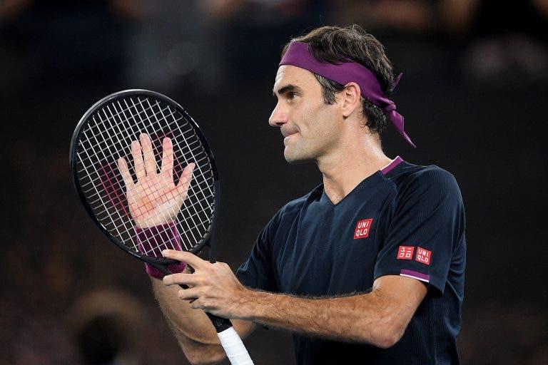 Federer: «Estou na reta final da minha carreira, mas ainda sou feliz»