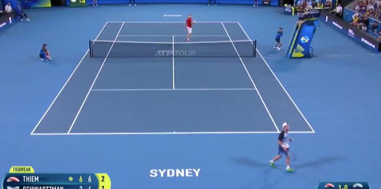 [VÍDEO] Ponto incrível de Thiem e Schwartzman na ATP Cup