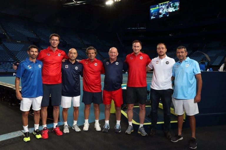 Começa… mais logo: os encontros do 1.º dia da ATP Cup já são conhecidos