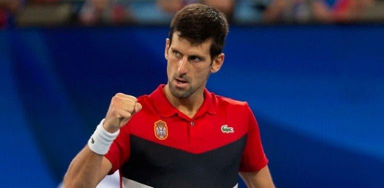 Djokovic e a final da ATP Cup: «Sabíamos que tínhamos que vencer o segundo ponto»