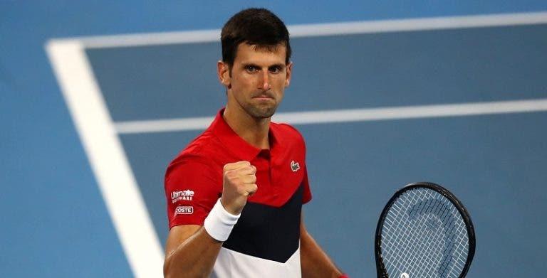 Djokovic e o duelo com Medvedev: «Tenho que dar o melhor de mim para conseguir a vitória»